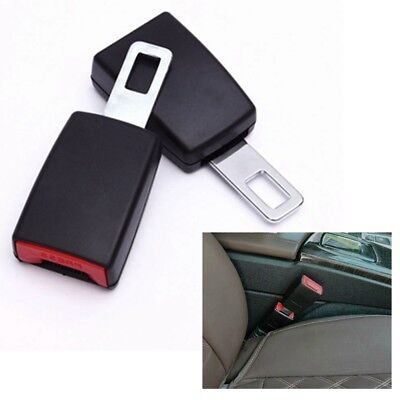 Car Safety Seat Belt Buckle Extension Extender Clip Alarm Stopper Universal
