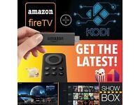 Amazon Fire Stick Fully Loaded - Kodi 16.1 - Mobdro - Popcorn - Showbox