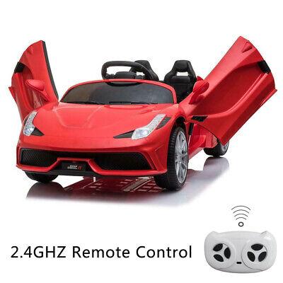 12V Kids Ride On Car Truck Battery Power 3 Speed W/ Lights M