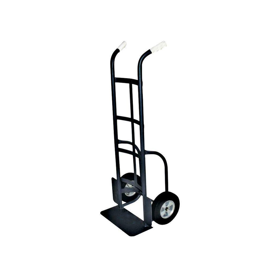 Hand Truck Utility Cart Dual Handle Grip Heavy Duty Metal Fr