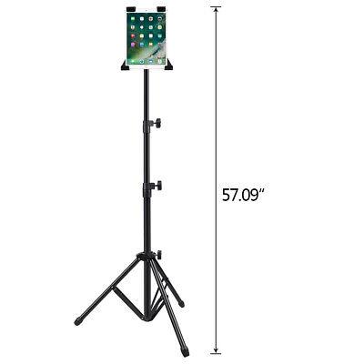 "Adjustable Tripod Stand Floor Mount Holder for iPad 1 2 3 7""-13"" Tablet"