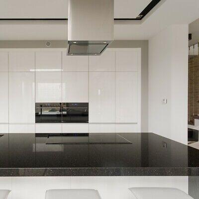 Star Galaxy schwarz Küchenarbeitsplatte Küchenplatte Granit poliert 60 cm