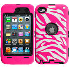 Zebra Audio Player Fitted Cases/Skins for iPod Touch