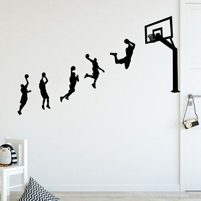 Kids Personalized Basketball (basketball game Wall Stickers Personalized Creative For Kids Rooms Diy)