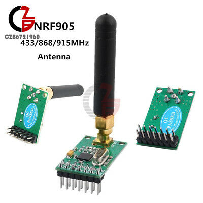 433868915mhz Nrf905 Ptr8000 Wireless Transceiver Receiver Module With Antenna