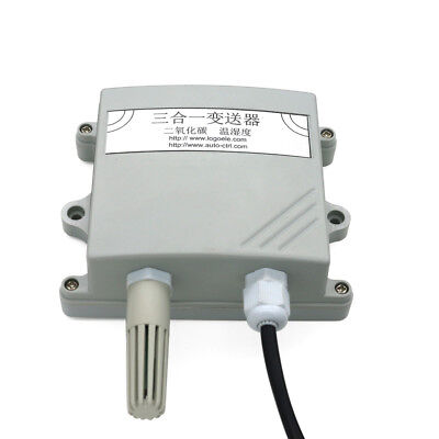 Three In One Sensor Temperature And Humidity Co2 Transmitter 485 Output