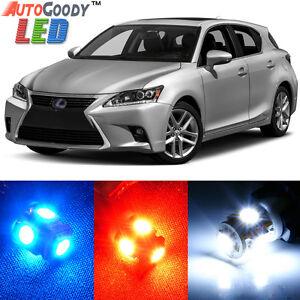 10-x-Premium-Xenon-White-LED-Lights-Interior-Package-Kit-for-Lexus-CT200h
