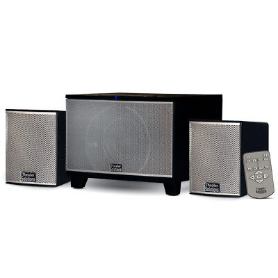 Theater Solutions Bluetooth 2.1 Speaker System with FM Tuner for Multimedia PC