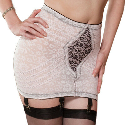Rago Jacquard Firm Control Open Bottom Girdle Style 1357 (Firm Control Open Bottom Girdle)