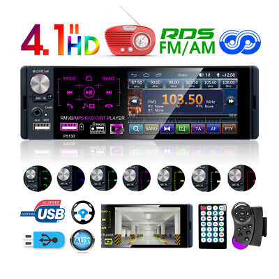 Autoradio radio de coche bluetooth 1DIN MP3 manos libres car RDS USB...