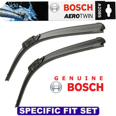 Bosch Aerotwin Flat Blade 500//500 A208S Front Windscreen Wiper Blades Pair Set