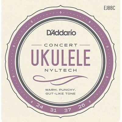 D'Addario EJ88C Ukulele Concert Nyltech strings