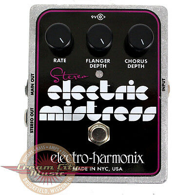 Brand New Electro Harmonix EHX Stereo Electric Mistress Guitar Effect Pedal