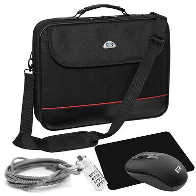 NOTEBOOK Laptop Tasche 13 15 17 18 20 Zoll NOTEBOOKTASCHE Maus, Mauspad, Schloss