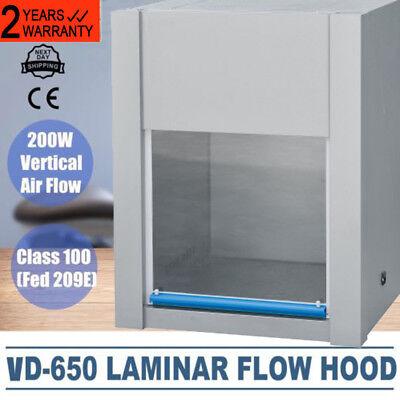 Usapro Vd-650 Ventilation Laminar Flow Hood Air Clean Bench Workstation 300lx