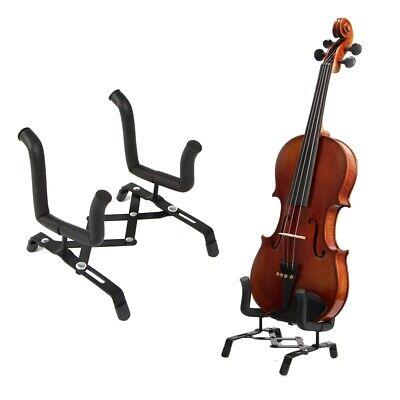 Folding Electric Bass Guitar Ukulele Violin Stand Floor Rack Holder Hanger Chic