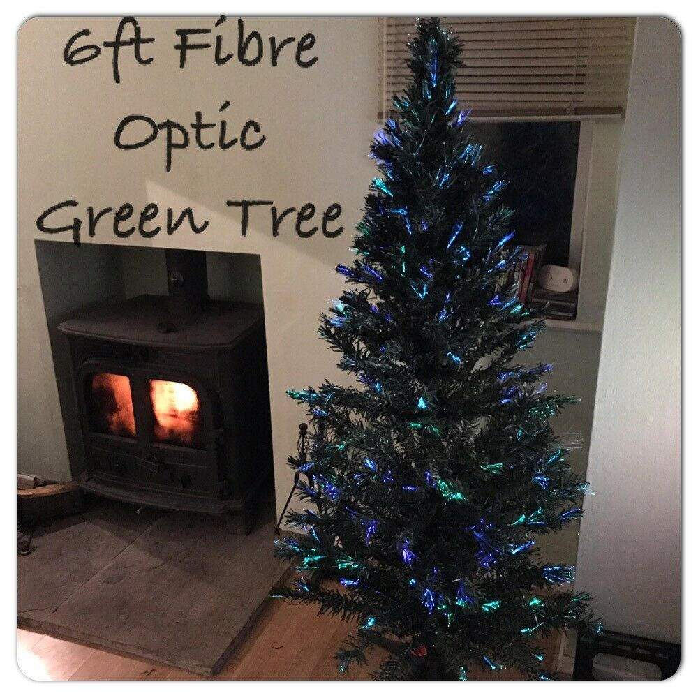 Argos Christmas Light Decorations: Argos 6ft Fibre Optic Xmas Tree RRP £49.99