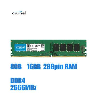 8gb 16gb memory ram 2666mhz ddr4 non