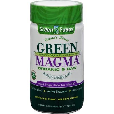 Green Foods-Dr. Hagiwara Green Magma Barley Grass Juice Powder (1-2.8 oz bottle)