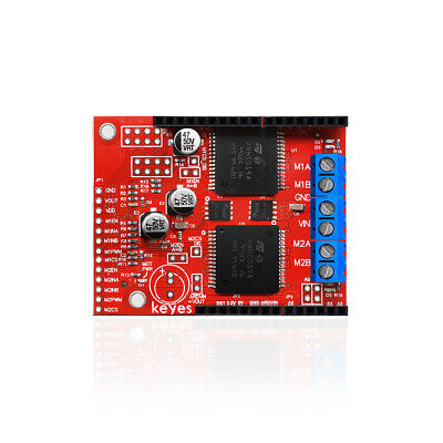 Keyes Dc Dual Vnh5019 Motor Driver Shield For Arduino Sz