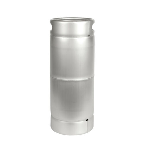 1/6 Barrel Sankey D Commercial Beer Keg New - 5.25 Gallon Dual Handle Ships Free