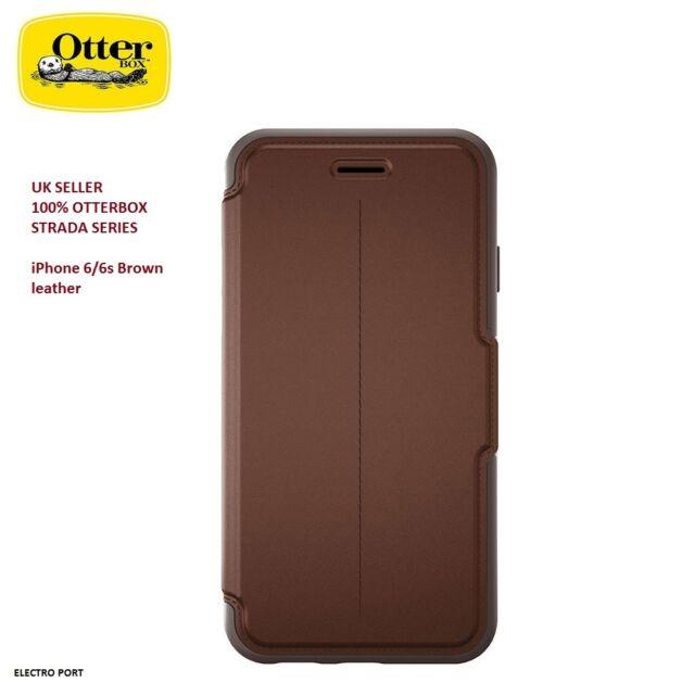 Genuine Otterbox STRADA premium leather flip case for iPhone 6, 6s 77-51581