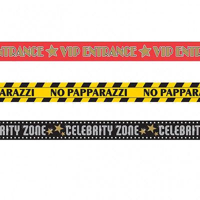 korationen Warnung Klebeband Vip Papparazzi Prominent Zonen (Hollywood-dekorationen)