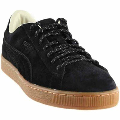 Puma Mens Basket - Puma Basket Classic Winterized  - Black - Mens