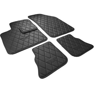 Fits Bentley Continental GT GTC Bespoke Diamond Car Floor Mats 04-19 Black