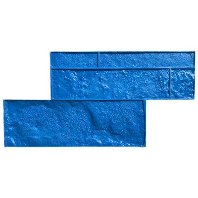 Limestone Ashler Single Tru Tex Vertical Concrete Stamp By Walttools
