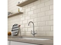 High quality Metro Wall Tiles (bevelled and gloss finish) Kitchens/bathrooms 30p FREE DELIVERY