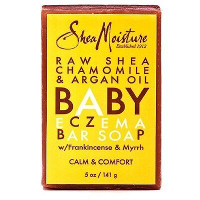 Shea Moisture Raw Shea Chamomile - Argan Oil Baby Eczema Bar Soap 5 - Baby Soap Bar