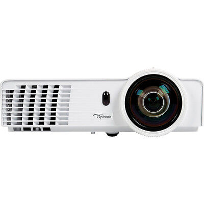 Optoma GT760A Full 3D 720p 3200 Lumen Short Throw DLP Gaming Projector Refurbish
