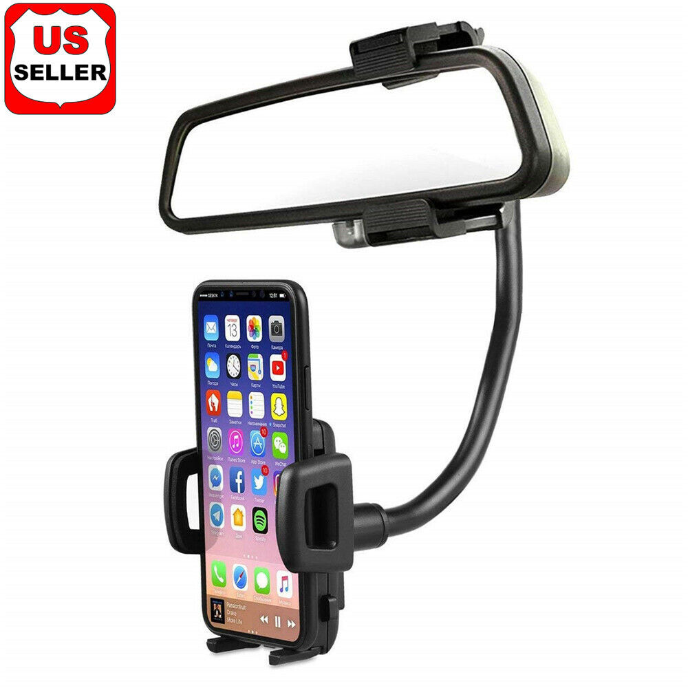 universal 360 car rearview mirror mount stand