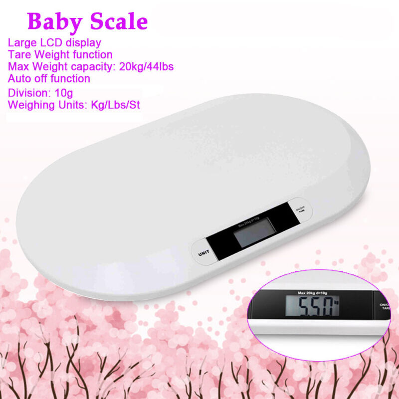 Eletronic Digital Baby Toddler Bath Scale Child Infant Weight Portable Weighing