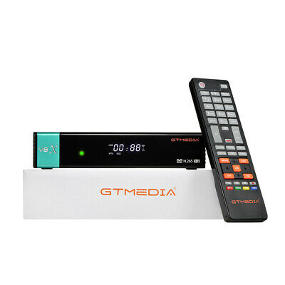 FHD DVB-S2 Gtmedia V8X H.265 CA Card solt Receptor powered by Gt...
