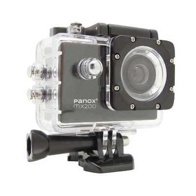 Panox HD Action Cam MX200, bis 30m wasserdicht, 2 Zoll Display OVP (mk)