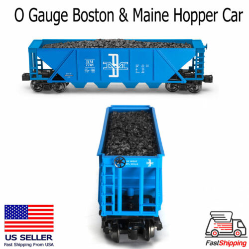 O Gauge Boston & Maine Hopper Car Lionel compatible Very Nice!
