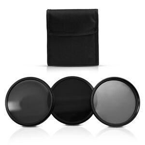58MM Neutral Density ND2 ND4 ND8 Filter Kit for Canon 1100D 650D 600D 550D 450D