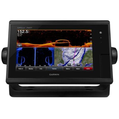 "Garmin GPSMAP 7607 7"" GPS Chartplotter With Preloaded Chart Maps 010-01379-11"