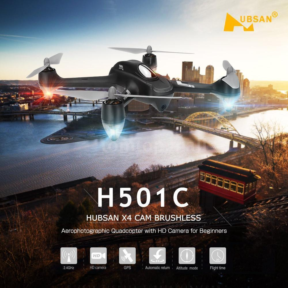 Hubsan X4 H501C 2.4G Brushless RC Quadcopter with 1080P HD Camera GPS RTF Drone