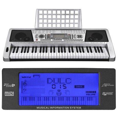 61 Key Music Digital Electronic Keyboard Electric Piano LCD Organ 3 Lesson  Mode · $79 98 · Electronic Keyboards