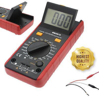 Bm4070 Lcr Meter Self-discharge Resistance Capacitance Inductance Tester Clips