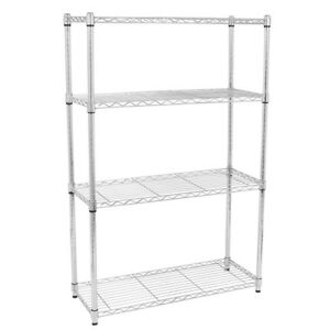 Chrome Shelving Rack - Adjustable
