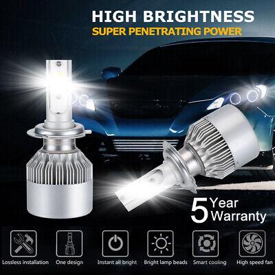 2x H7 110W 26000LM 6000k LED Scheinwerfer Leuchten Xenon Birne Weiß DRL Lampe DE