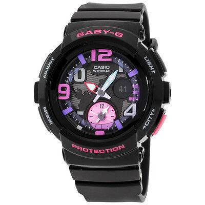Casio Baby-G Black Dial Black Resin Quartz Women's Watch BGA1901B