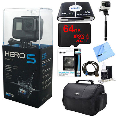GoPro HERO5 Black Edition Action Camera Ready For Adventure Kit