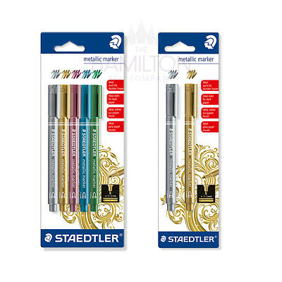 Staedtler Metallic Marker Pens - Packs Of 2 Or 5 Colours