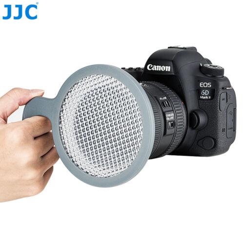 JJC Universal White Balance Handheld Disc for Canon Nikon Sony Pentax DSLR