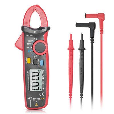 Uni-t Ut210e Digital Clamp Meter Multimeter Handheld Rms Acdc Resistanc F8k3n